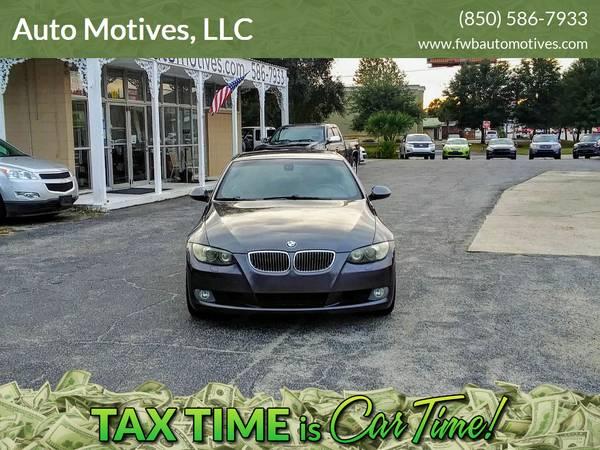 Photo 2008 BMW 328i Hardtop Convertible - $7900 (801 Eglin PKWY NE)