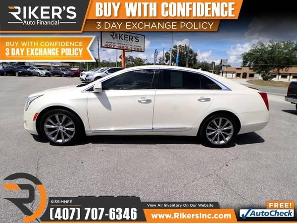 Photo $212mo - 2014 Cadillac XTS Luxury - 100 Approved - $212 (2776 N Orange Blossom Trail, Kissimmee FL, 3474)
