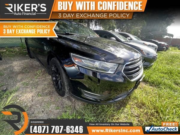 Photo $212mo - 2016 Ford Taurus Limited - 100 Approved - $212 (2776 N Orange Blossom Trail, Kissimmee FL, 3474)