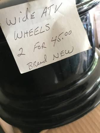 Photo 2 Brand New Wheels, xtra Wide, 4 lug (Crestview)