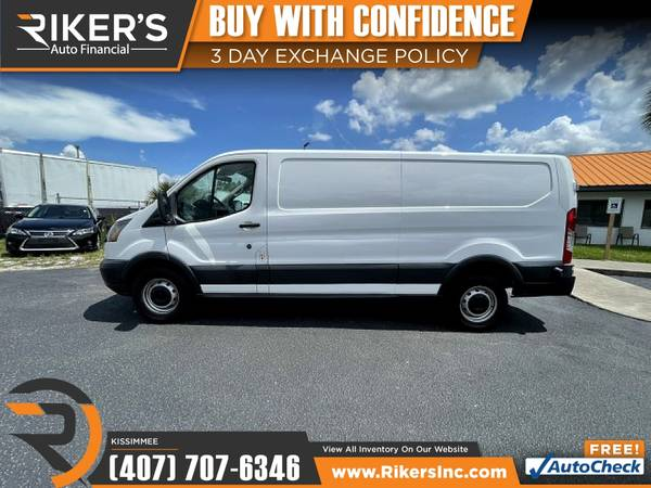 Photo $345mo - 2016 Ford Transit Cargo Van - 100 Approved - $345 (2776 N Orange Blossom Trail, Kissimmee FL, 3474)