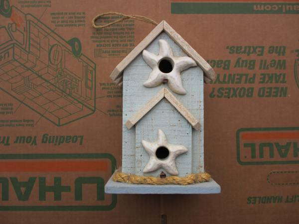 Photo 9.5quot X 6quot - Bird House - Never Used - Back Opens For Clean Out - $15 (Niceville)