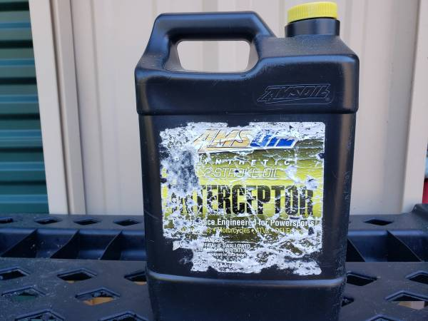 Photo Amsoil 2 stroke oil, 1 Gallon - $45 (Valparaiso)