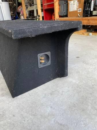 Photo Jeep Wrangler custom dual 12quot subwoofer box - $50 (Niceville)