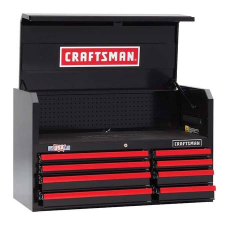 Photo NEW CRAFTSMAN 2000 Series 40quot W x 24quotH 8-Drawer Steel Tool Chest Box - $220 (MARY ESTHER, FL)