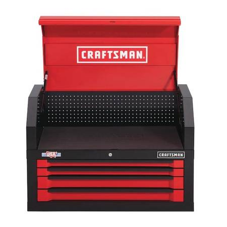 Photo NEW CRAFTSMAN 3000 Series 41 W x 24.5 H 4-Drawer Steel Tool Chest Box - $275 (MARY ESTHER, FL)