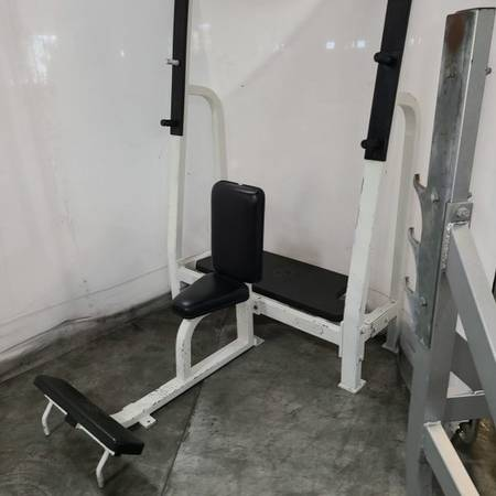 Photo Nautilus Olympic Military Bench Press - $350 (Mcdonough)