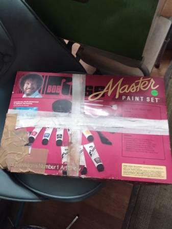 Photo New Bob Ross Master Paint Set - $40 (655 Drake Acres Road, Quincy, Fl.)