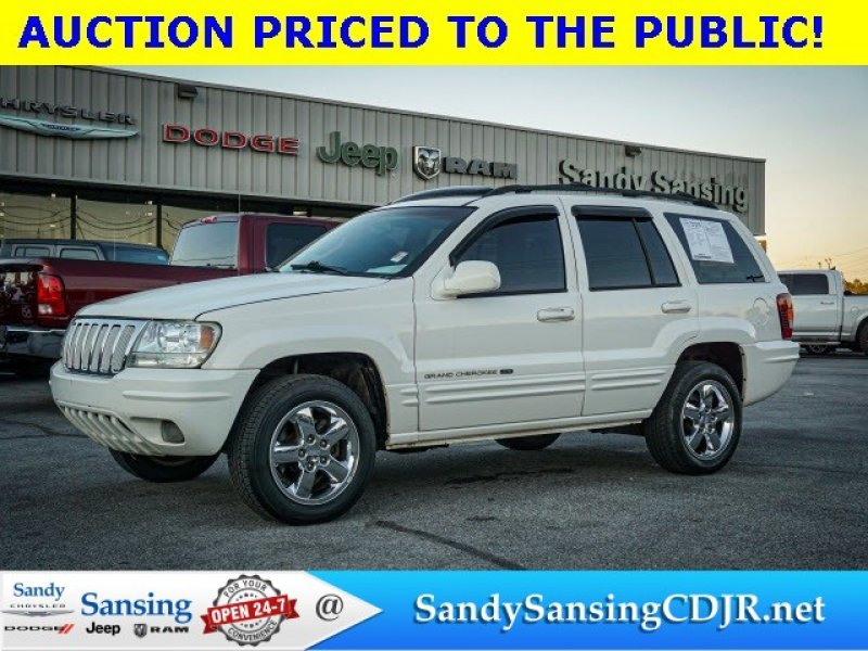 Photo Used 2003 Jeep Grand Cherokee Limited for sale