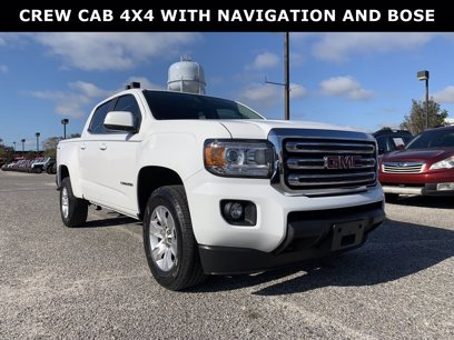 Photo Used 2016 GMC Canyon 4x4 Crew Cab SLE for sale