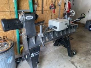 Photo Wood Lathe, Robust American Beauty - $6,500