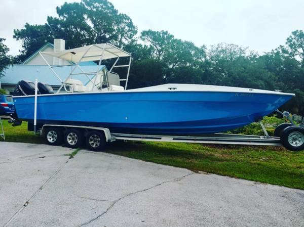Photo corsa 30cc Sportfish center console boat - $28,000 (Niceville)