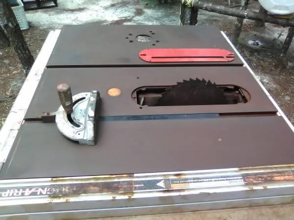 Photo craftsman table saw - $200 (defuniak springs fl.)
