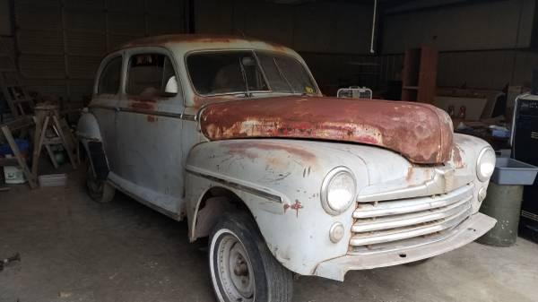 Photo 1947 Ford Super Deluxe, Barn Find - $2,750 (Nicoma Park)