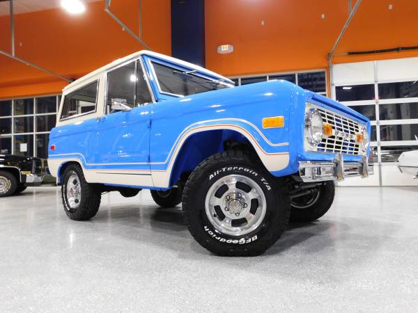 Photo 1974 Ford Bronco Ranger MARTI REPORT DOCUMENTED CLASSIC 405 MOTORS - $89900 (Mustang)