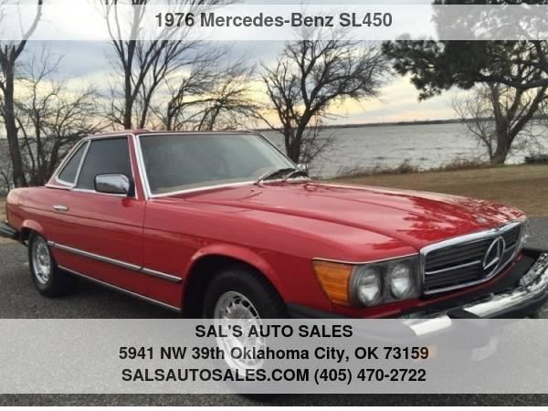 Photo 1976 Mercedes-Benz SL450 - $9,998 (OKC)