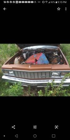 Photo 1979 chevy impala header panel - $250