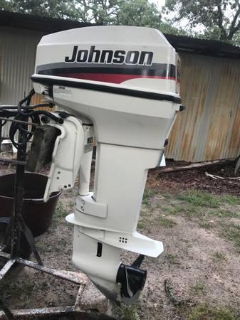 Photo 1998 Johnson 40 HP Outboard motor - $2,450 (Coleman,OK)