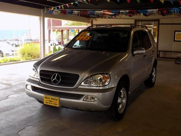 Photo 2003 MERCEDES-BENZ ML - $4995 (Best Price Auto-- Cash Only)