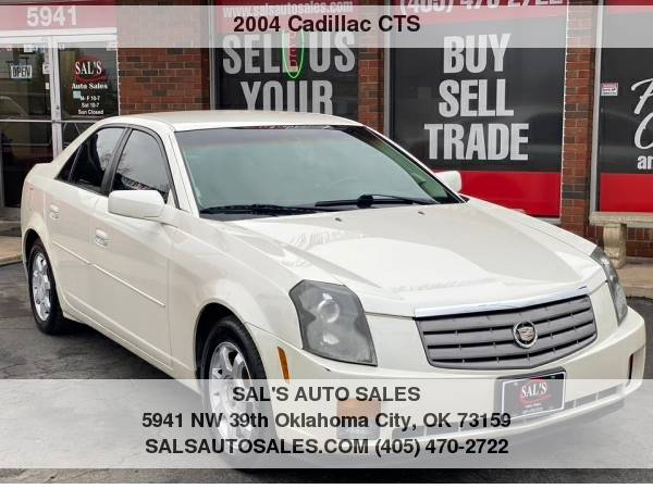 Photo 2004 Cadillac CTS 4dr Sdn  Best Deals on Cash Cars  - $4500 (OKC)