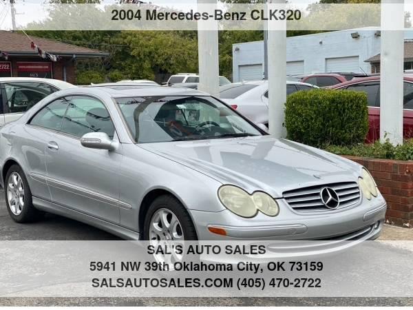 Photo 2004 Mercedes-Benz CLK-Class 2dr Coupe 3.2L  Best Deals on Cash Cars  - $5,500 (OKC)