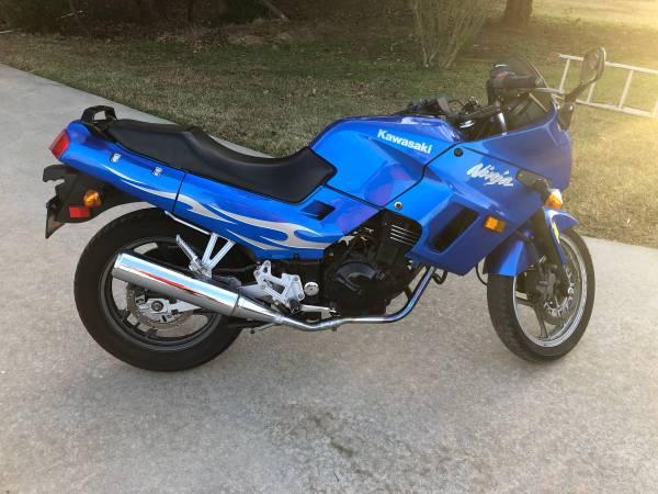 Photo 2007 Kawasaki Ninja EX250F For Sale - $1,350 (Shawnee)