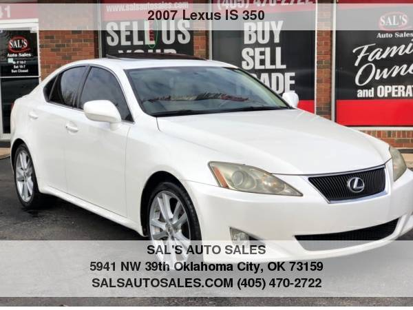 Photo 2007 Lexus IS 350 4dr Sport Sdn Auto  Best Deals on Cash Cars  - $9998 (OKC)