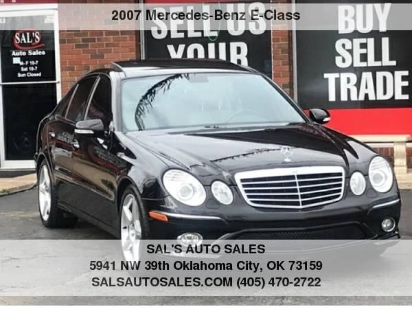 Photo 2007 Mercedes-Benz E-Class 4dr Sdn 3.5L RWD  Best Deals on Cash Cars  - $6998 (OKC)