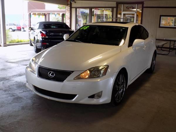 Photo 2008 LEXUS IS - $7995 (Best Price Auto-- Apply Now)
