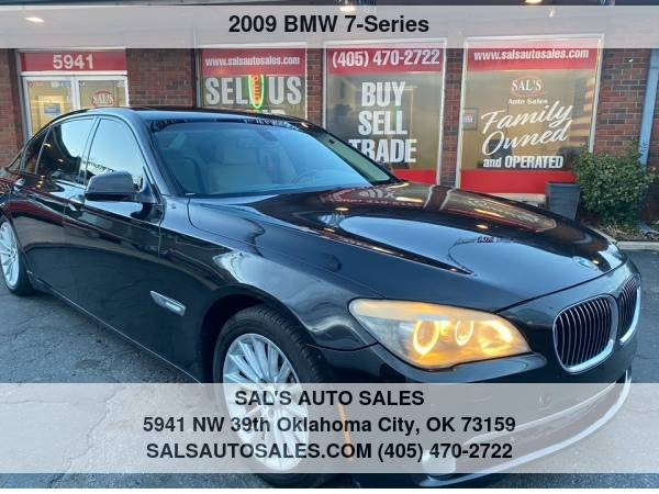 Photo 2009 BMW 7 Series 4dr Sdn 750Li  Best Deals on Cash Cars  - $8,995 (OKC)