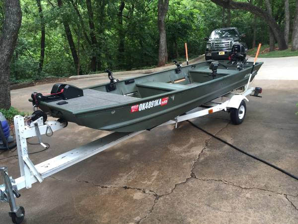 2010 14 ft Alumacraft jon boat - $3100 (Edmond, OK) | Boats For