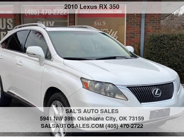 Photo 2010 Lexus RX 350 FWD 4dr  Best Deals on Cash Cars  - $9,995 (OKC)