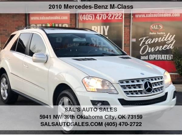 Photo 2010 Mercedes-Benz M-Class 4MATIC 4dr ML 350  Best Deals on Cash Cars  - $8995 (OKC)