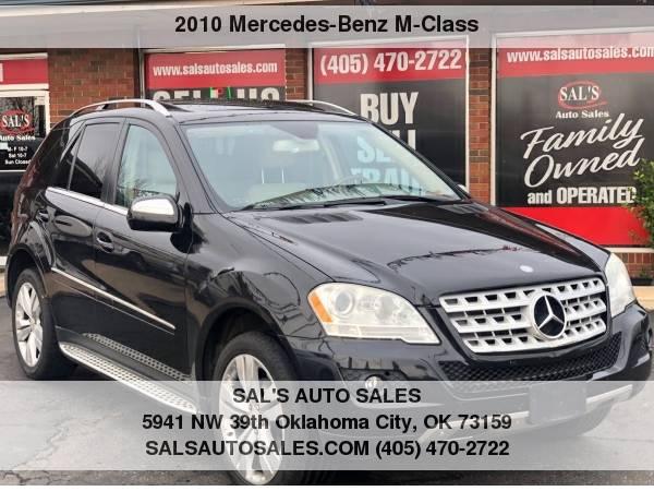 Photo 2010 Mercedes-Benz M-Class 4MATIC 4dr ML 350  Best Deals on Cash Cars  - $8500 (OKC)