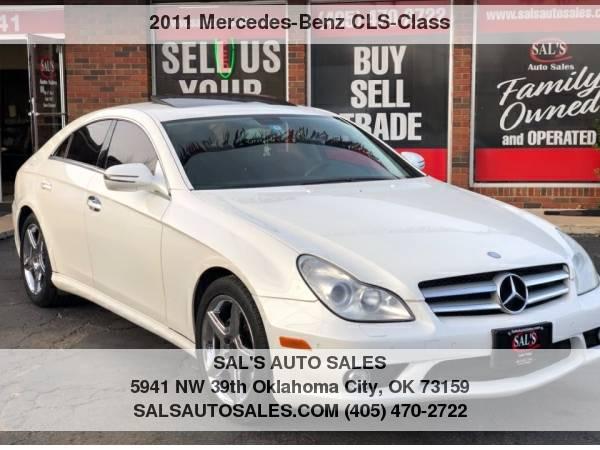 Photo 2011 Mercedes-Benz CLS-Class 4dr Sdn CLS550  Best Deals on Cash Cars  - $9998 (OKC)