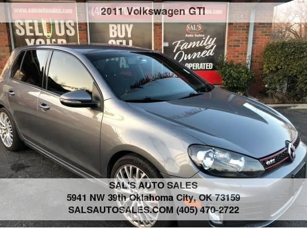 Photo 2011 Volkswagen GTI 4dr HB Man wSunroof  Best Deals on Cash Cars  - $9995 (OKC)