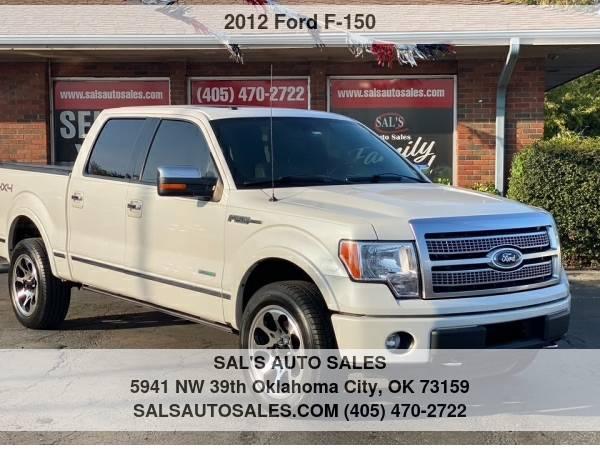 Photo 2012 Ford F-150 4WD SuperCrew 145quot XL  Best Deals on Cash Cars  - $15,500 (OKC)