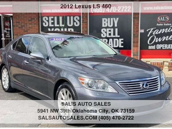 Photo 2012 Lexus LS 460 4dr Sdn RWD  Best Deals on Cash Cars  - $19,500 (OKC)