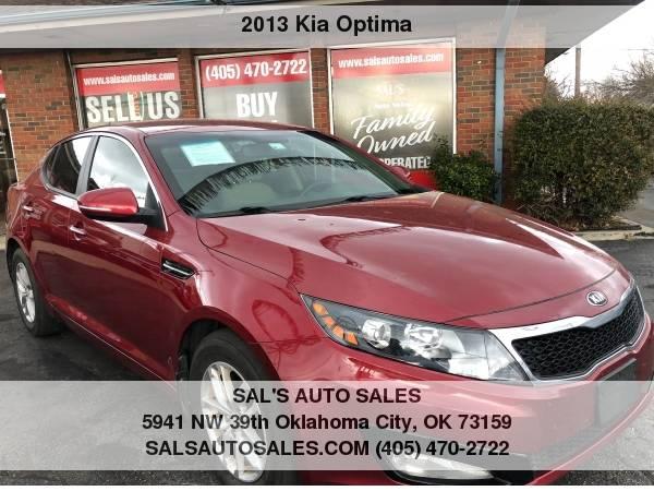 Photo 2013 Kia Optima 4dr Sdn LX  Best Deals on Cash Cars  - $7998 (OKC)