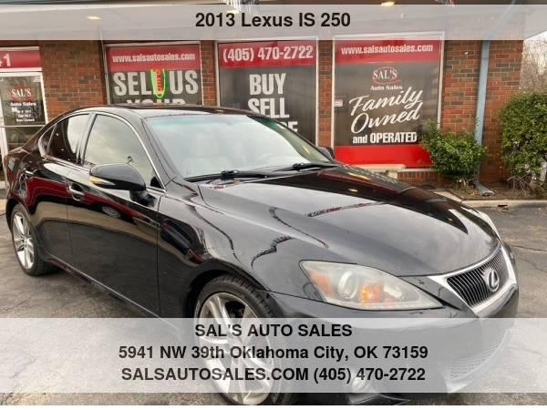 Photo 2013 Lexus IS 250 4dr Sport Sdn Auto RWD  Best Deals on Cash Cars  - $10,500 (OKC)