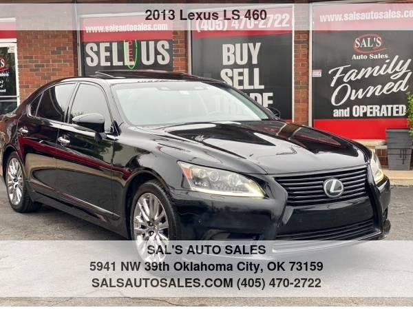 Photo 2013 Lexus LS 460 4dr Sdn L AWD  Best Deals on Cash Cars  - $18,995 (OKC)