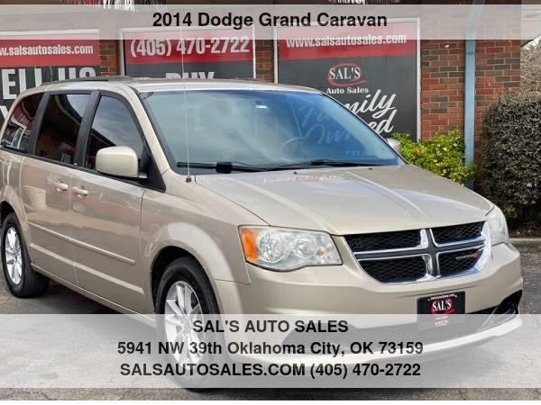 Photo 2014 Dodge Grand Caravan 4dr Wgn SXT  Best Deals on Cash Cars  - $5,995 (OKC)