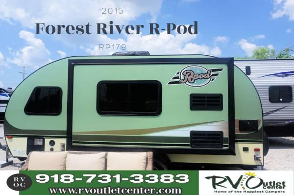 Photo 2015 Forest River R-Pod RP179 Huge Slide - $16,999 (Tulsa)