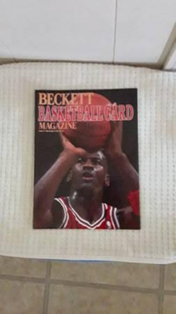 Photo 3 Vintage Beckett Basketball Card Mags Of Michael Jordan 90, 91,  93 (Se Okc, Moore)