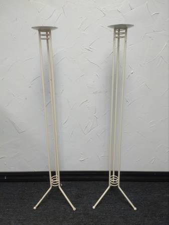 Photo 40 inch Floor Candle Holders - $24 (NW OKC)