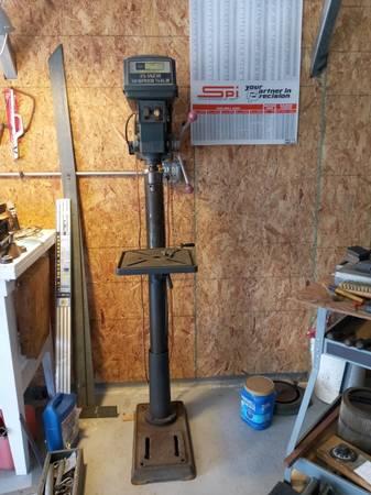 Photo 5quot Craftsman Drill Press - $175 (OKLAHOMA CITY)
