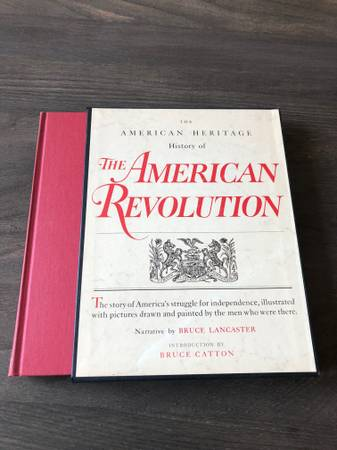 Photo American Heritage History- The American Revolution Illustrated - $20 (Nw Norman)