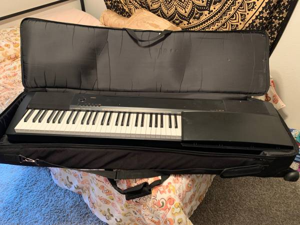 Photo Casio CDP-130 digital piano, 88 weighted keys, case - $350 (Norman)
