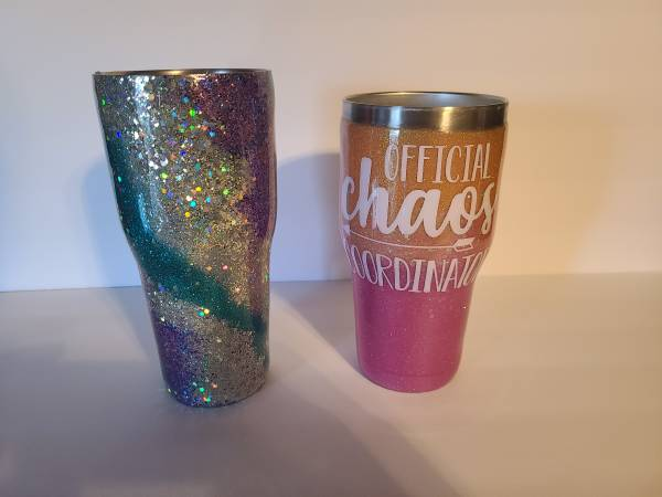 Photo Custom Tumbler - $30 (SW OKC)