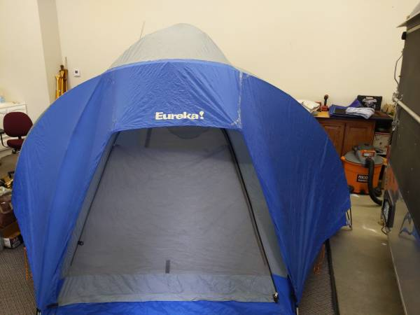 Photo Eureka Wind River 6 Dome Tent Complete Good Condition - $60 (Bethany)